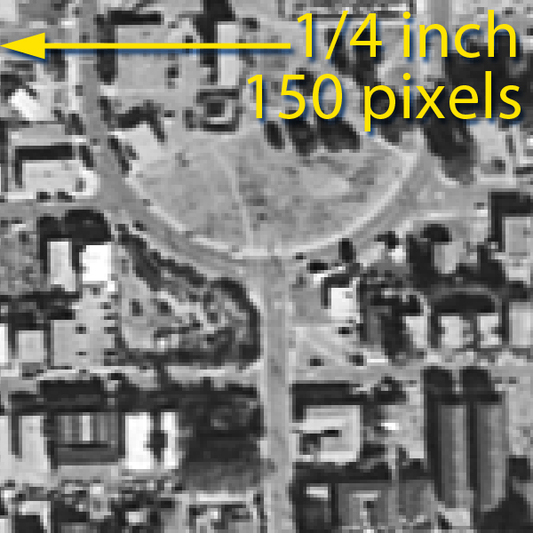 Aerial Photography Scale | UCSB Library