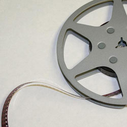 Film Reel from Performing Arts Collection