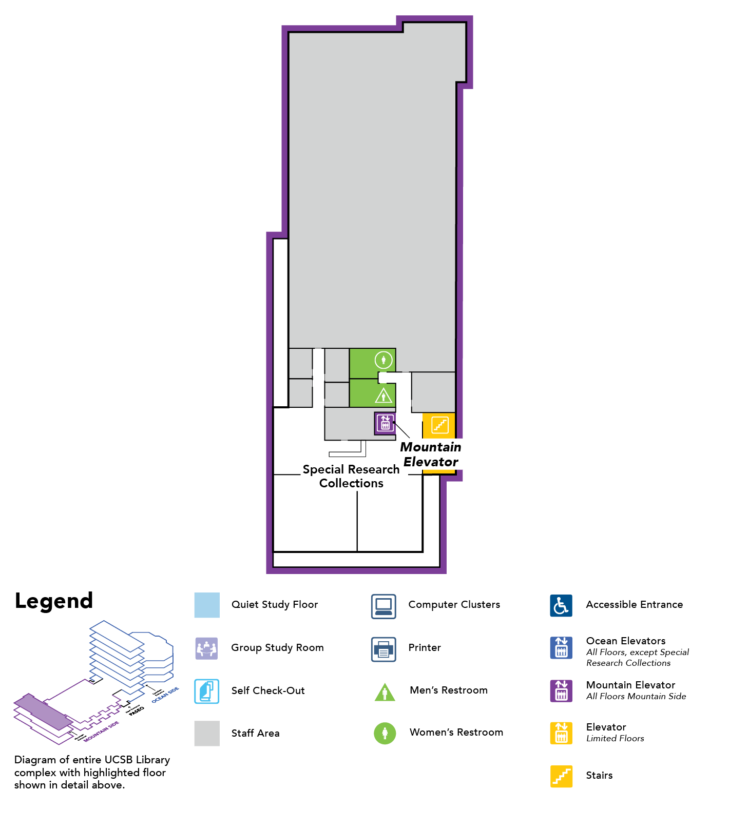 map of floor 3 Mountain Side