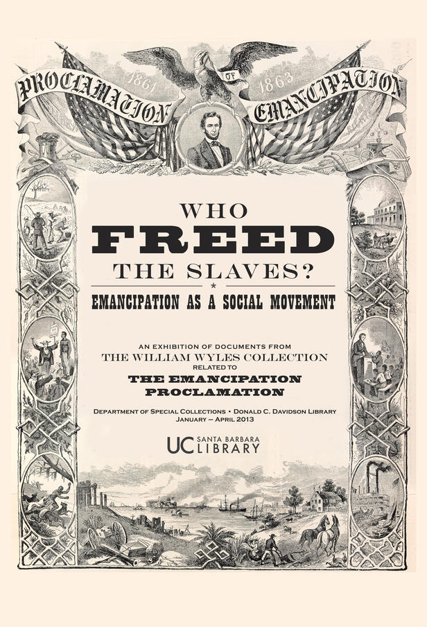 free slaves Does abraham lincoln deserve all the credit who freed the slaves february 25, 2005 | page 8 john green unravels one of the great myths about the american civil war.