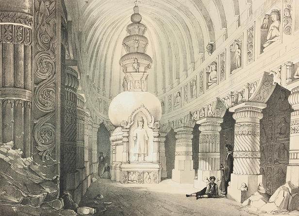 James Fergusson, Illustrations of the Rock-Cut Temples of India: Selected from t