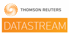 Thomson Reuters Datastream