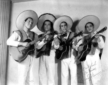 Los Carlistas Quartet at the New York World's Fair (1938)