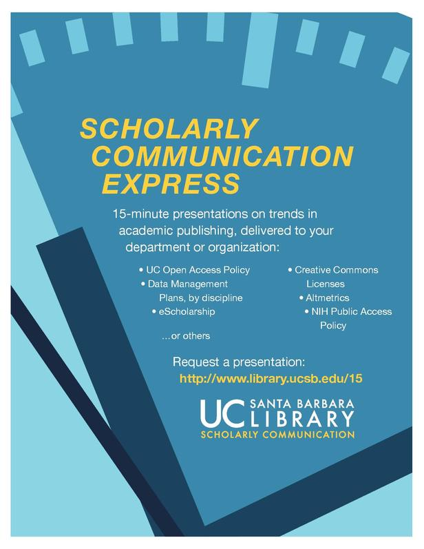 Scholarly Communication Express