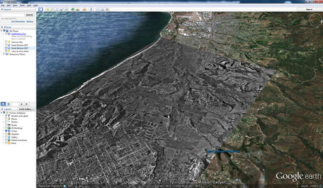 A Google Earth screenshot