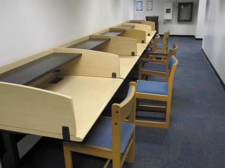 Power tables on the 3rd floor