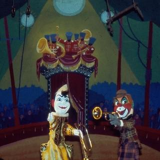 Photographs of puppet show