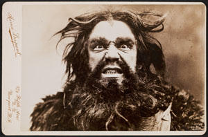 David Bispham as Alberich in Richard Wagner's Der Ring des Nibelungen, 1896.