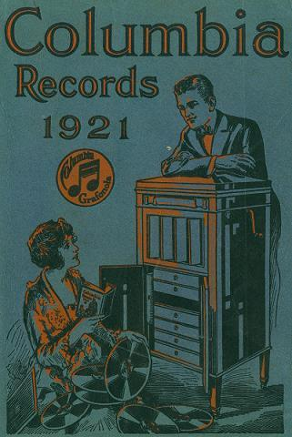 Cover from a Columbia Record Catalog (1921)