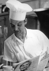 Eddie Davis (circa 1958) Parkway Grill Restaurant, Hollywood