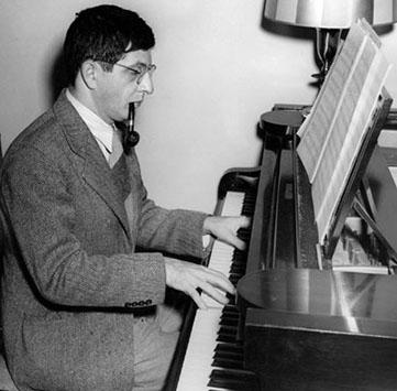 Bernard Herrmann at the Piano
