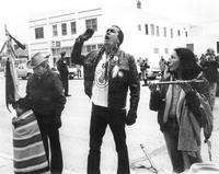 Photograph of Dennis Banks, circa late 1960s