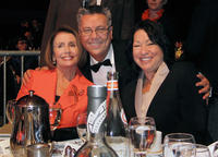 Photograh of Dan Guerrero with Nancy Pelosi and Sonia Sotomayo