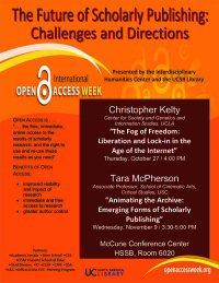 Open Access Week, 2011