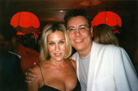 Photograph of Dan Guerrero and Sarah Jessica Parker