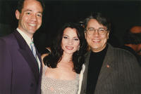 Photograph of Dan Guerrero and Fran Drescher