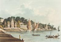 City of Benares, from the Ganges