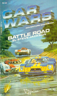 "Car Wars  ""Battle Road"" by Steve Jackson"