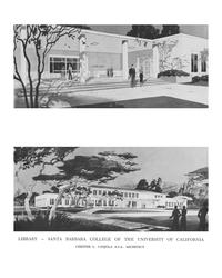 Architect's rendering, circa 1954