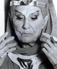 Dame Judith Anderson as a Vulcan High Priestess in Star Trek III: The Search for