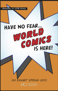 World Comics Exhibition Poster