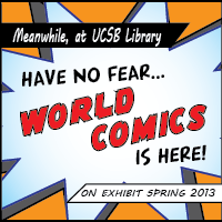 World Comics exhibition graphic