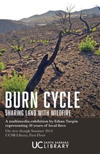Burn Cycle exhibition poster