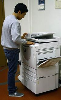 library photocopier