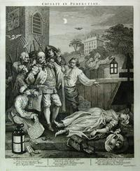William Hogarth's Cruelty in Perfection