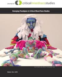 Artwork from the cover of the Joural of Critical Mixed Race Studies