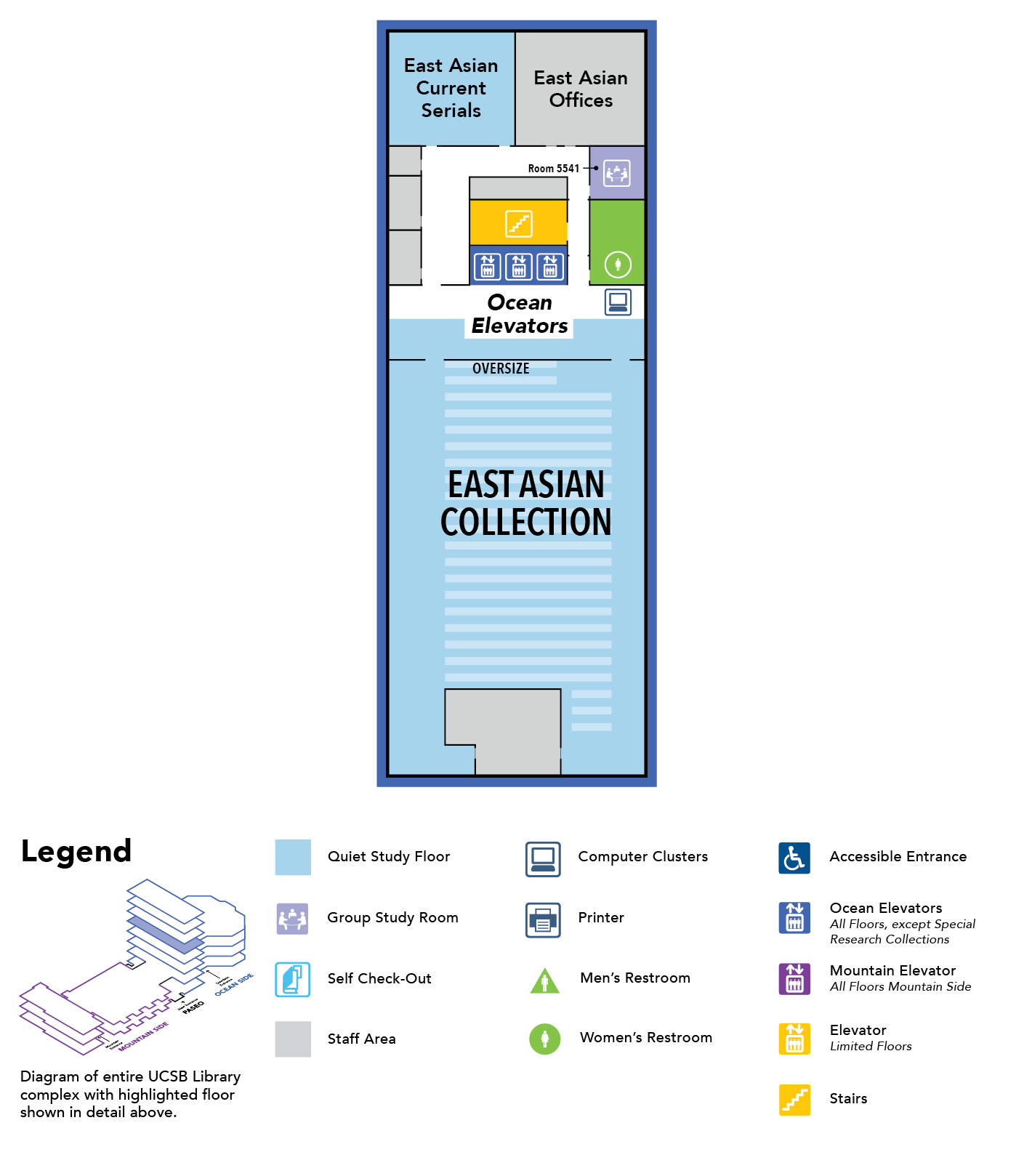 map of floor 5