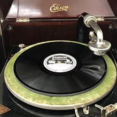 Image of an Edison record album