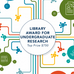 Library Award for Undergraduate Research Logo