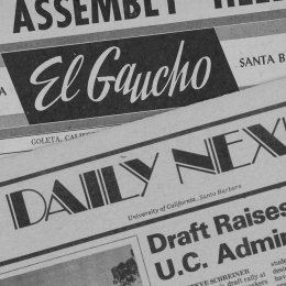 Image of Daily Nexus Newspaper Headers