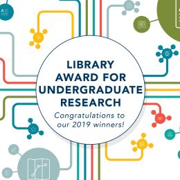 Library Award Congratulatory Banner