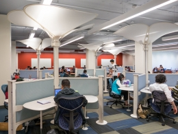 New Library study space