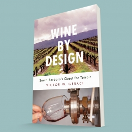 """""""Wine by Design"""" book by Victor Geraci."""