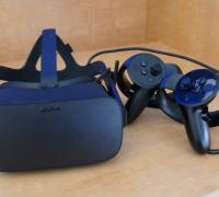 Photo of virtual reality glasses
