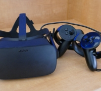 Photo of virtual reality glasses