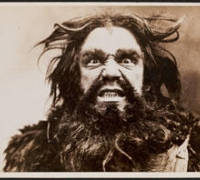 Baritone David Bispham as Alberich in Richard Wagner's Der Ring des Nibelungen, 1896.