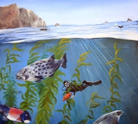 Channel Islands painting