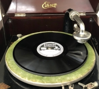 Edison record and record player