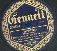 A Gennett Record of Dancin' Dan