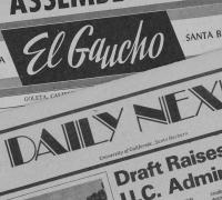 Image of Daily Nexus Newspaper Headers