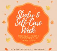 Study & Self-Care Week Badge