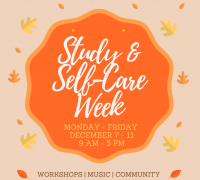 Study & Self-Care Week Badge