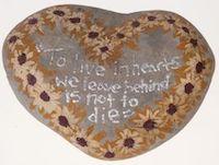 Rock heart Isla Vista