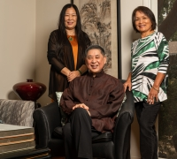 Image of Dr. Pai, Cathy Chiu and Amy O'Dowd