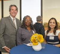 Photo of 3 faculty members of UCSB