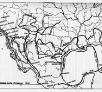 From Goetzmann, Army Exploration in the American West, 1803-1863